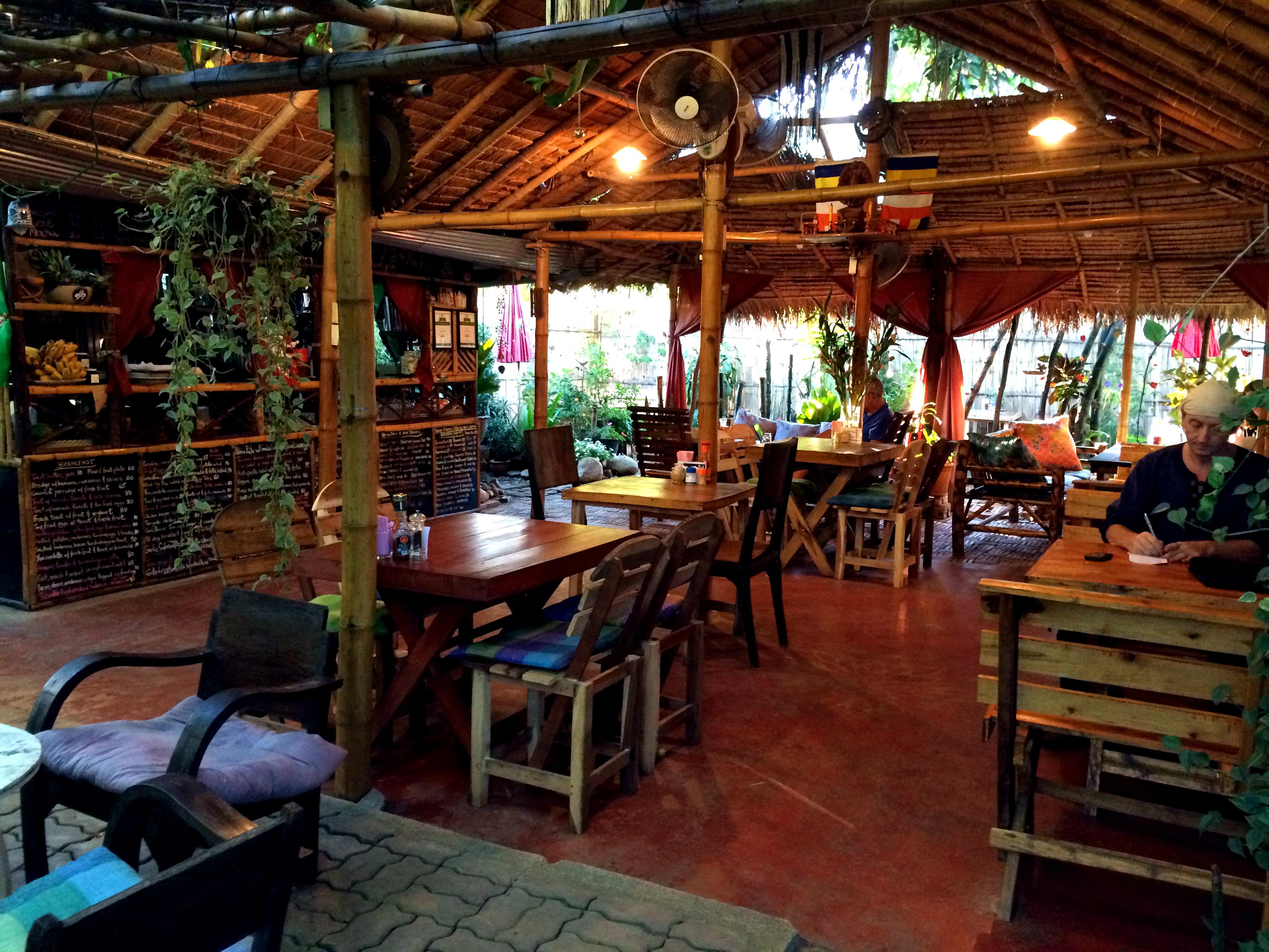 Om Garden Cafe Pai Menu